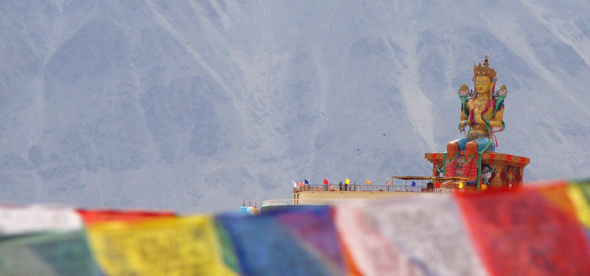 BUDDHIST MONKS IN LADAKH
