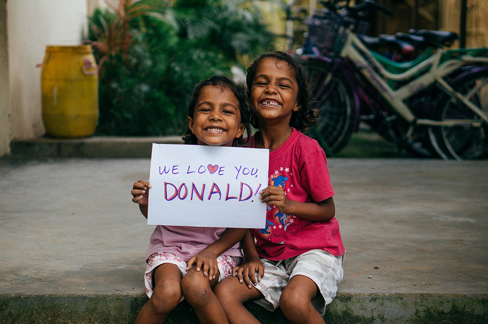 Orphans for Donald
